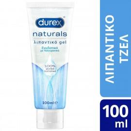 Durex Naturals, Ενυδατικό Λιπαντικό Gel με Υαλουρονικό 100% Φυσικά Συστατικά 100ml
