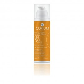 Corium Sunscreen Light Cream Matte Effect SPF30 50ml