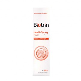 Biotrin Hard & Strong Nails Topical Emulsion Γαλάκτωμα για Εύθραστα Νύχια 20ml