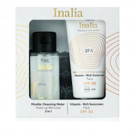 Inalia Promo Vitamin Rich Sunscreen Cream Face SPF50 Αντηλιακή Κρέμα Προσώπου 50ml & ΔΩΡΟ Micellar Cleansing Water 50ml