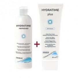 Synchroline Promo Hydratime Remover Τζελ Καθαρισμού 200ml & Plus Ενυδατική Προσώπου 50ml