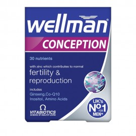 Vitabiotics Wellman Conception, Συμπλήρωμα για την Καλή Ανδρική Αναπαραγωγική Υγεία 30Tabs