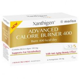 Omega Pharma Xanthigen Advanced Calorie Burner 400, Συμπλήρωμα Διατροφής για Αδυνάτισμα-Αντιγηραντική Δράση 90 Caps