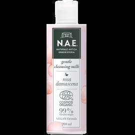 N.A.E Απαλό Γαλάκτωμα καθαρισμού, Οργανική Πιστοποίηση COSMOS  & Vegan φόρμουλα, 200ml