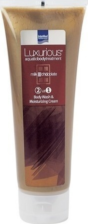 Intermed Luxurious 2 in 1 Milk Chocolate Body Wash & Moisturizing Cream Ενυδατικό Αφρόλουτρο 250ml