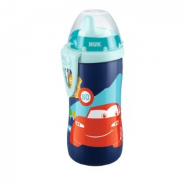 Nuk First Choice Kiddy Cup PP 12m+ Disney Cars Παγουράκι με Ρύγχος & Κλιπ 300ml