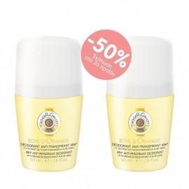 Roger & Gallet Promo Deodorant Bois D'Orange 48h Roll-On 2x50ml, -50% στο 2ο Προιόν