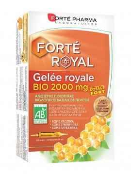 Forté Pharma Gelée Royale Bio 2000mg 20 Αμπούλες