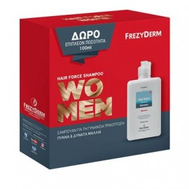 Frezyderm Promo Hair Force Shampoo Women 200ml & Δώρο Επιπλέον 100ml