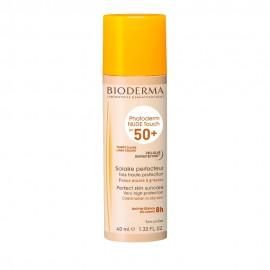 Bioderma Photoderm Nude Touch SPF50+ Light, Αντηλιακή Προσώπου με Χρώμα 40ml