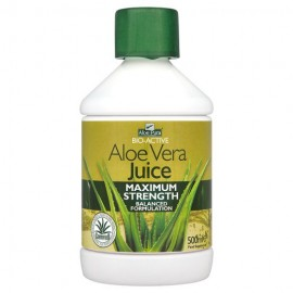 Optima Aloe Vera Juice Maximum Strength Φυσικός Χυμός Αλόης 500ml