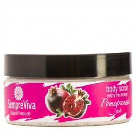 SempreViva Body Scrub Pomegranate, Απολεπιστικό Σώματος 200gr