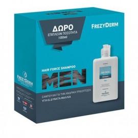 Frezyderm Promo Hair Force Shampoo Men, 200ml & Δώρο Eπιπλέον 100ml