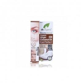 Dr.Organic Virgin Coconut Oil Eye Perfect Αντιγηραντικό Serum Ματιών 15ml