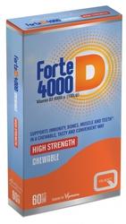 Quest Forte D 4000, 100mg, Απορρόφηση Ασβεστίου, για Μύες, Δόντια & Οστά, 60tabs