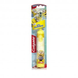 Colgate Minions Παιδική Ηλεκτρική Οδοντόβουρτσα Κίτρινη Πολύ Μαλακή 1τμχ