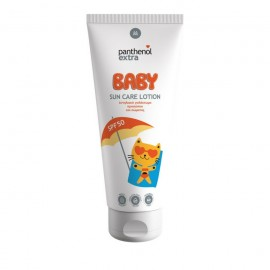 Panthenol Extra Baby Sun Care Lotion SPF50, Βρεφικό Αντηλιακό Γαλάκτωμα Προσώπου/Σώματος 200ml
