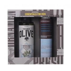 Korres Promo Essentials for Men Shower Gel Olive Cedar 250ml & Aftershave Balm 200ml
