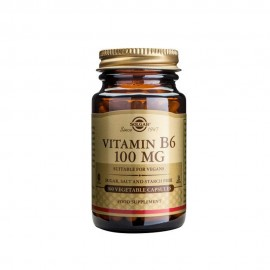 Solgar Vitamin B6 100mg, Βιταμίνη B6 100caps