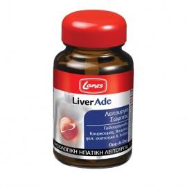 Lanes LiverAde, Συμπλήρωμα Διατροφής για Φυσιολογική Ηπατική Λειτουργία, 30Tablets