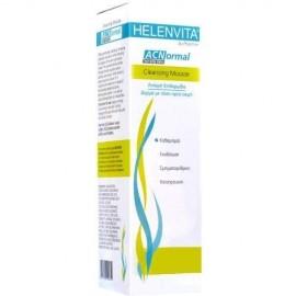 Helenvita ACNormal Cleansing Mousse, Αφρός Καθαρισμού για Λιπαρές-Ακνεϊκές Επιδερμίδες 150ml