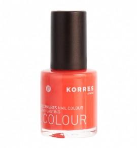 Korres Βερνίκι Νυχιών – 44 Coral Hibiscus 11ml