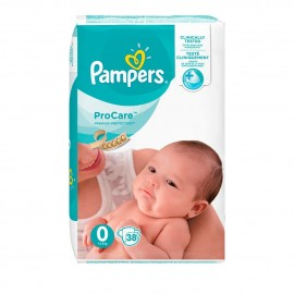 Pampers Procare Premium Protection No.0 (1-2.5 kg) 38τμχ