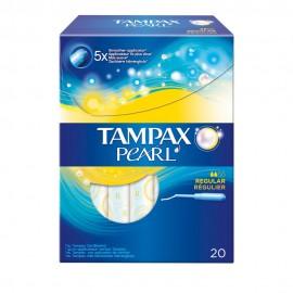Tampax Pearl Regular, Ταμπόν με Απλικατέρ Υψηλής Απορροφητικότητας , 20Τεμάχια