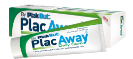 Plac Away Daily Paste, Οδοντόκρεμα με Φθόριο 75ml