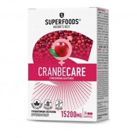 Superfoods Cranbecare 15.200mg 30caps