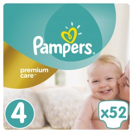 Pampers Premium Care No4 Maxi (8-14kg) 52τμχ