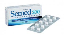 Intermed Semed 200 Συμπλήρωμα Διατροφής Οργανικού Σεληνίου 30Tabs