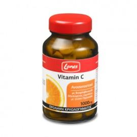 Lanes Vitamin C 1000mg Orange, Βιταμίνη C, Ανοσοποιητικό με Γεύση Πορτοκάλι, Μασώμενα 60tabs