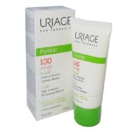 Uriage Hyseac CreamSPF 30+ T,  Αντηλιακή για το Λιπαρό ή Μεικτό Δέρμα, 50ml