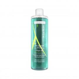 Α-Derma, Phys-AC Purifying Foaming Gel, Τζελ Καθαρισμού Προσώπου Για Επιδερμίδες Με Τάση Ακμής, 400ml