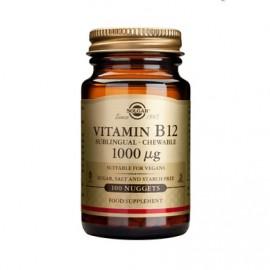 Solgar Vitamin B-12,  1000mg Καλή Λειτουργία των Κυττάρων, 100 nugets