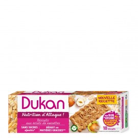 Dukan Μπισκότα Βρώμης με Γεύση Φουντούκι 225g (18τμχ)