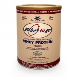 Solgar Whey to Go Protein Powder Chocolate, Πρωτεΐνη Ορού Γάλακτος Σοκολάτα 1162g