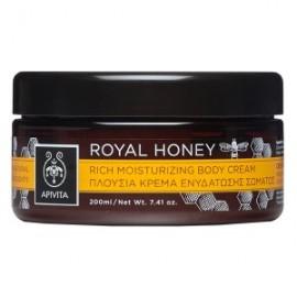 Apivita Royal Honey,Πλούσια Κρέμα Ενυδάτωσης Σώματος με Μέλι 200ml