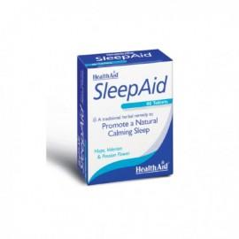 Health Aid Sleep Aid, με Λυκίσκο Βαλεριάνα και Πασιφλώρα 60 Tablets
