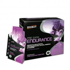 EthicSport Pre Gara Endurance, Προϊόν για Μεγιστοποίηση αντοχής με Μαλτοδεξτρίνη Μακράς Αλύσου 20Sachets