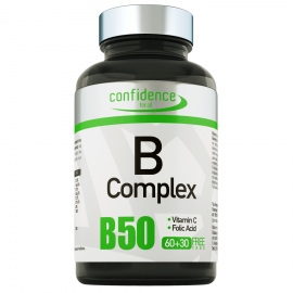 Alfa Choice Confidence B Complex, Σύμπλεγμα Βιταμινών B 60Tabs + 30 ΔΩΡΟ