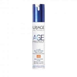 Uriage Age Protect Multi-Action Fluid Cream SPF30, Αντιρυτιδική Κρέμα Πολλαπλών Δράσεων για Κανονικές/Μεικτές Επιδερμίδες 40ml