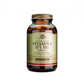 Solgar Vitamin E 1000 IU Softgels 100caps