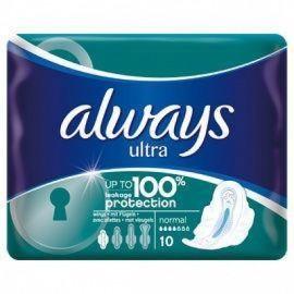 Always Ultra Normal Plus, Σερβιέτες 10τμχ