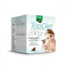 Power Health Top Diet, Υποκατάστατο Γεύματος για τον Έλεγχο του Σωματικού Βάρους με Γεύση Σοκολάτα 350gr