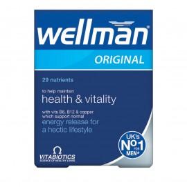 Vitabiotics Wellman Original, Πολυβιταμίνη Ειδικά Σχεδιασμένη για Άνδρες 30tabs