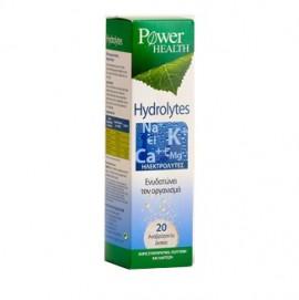 Power Health Hydrolytes, Ηλεκτρολύτες, Ενυδάτωση Οργανισμού 20 Αναβράζουσα Δισκία