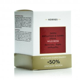 Korres Limited Edition 50% Επιπλέον Προϊόν, Άγριο Τριαντάφυλλο, Ενυδάτωσης & Λάμψης, Κανονικές-Ξηρές Επιδ. 60ml