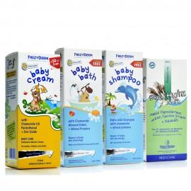 Frezyderm Πακέτο Προσφοράς 4 Τεμαχίων - Baby Cream, Baby Bath, Baby Shampoo, Hydra Milk